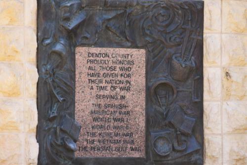 A plaque.